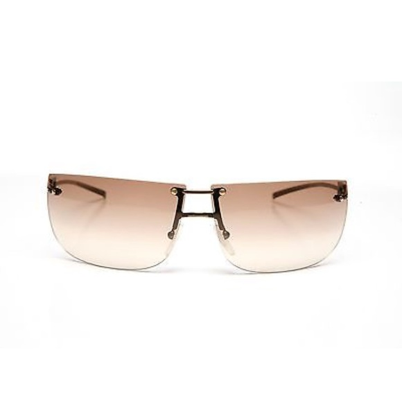 64cf2235e7a Gucci Accessories - Gucci Gold 1792 Rimless Sunglasses